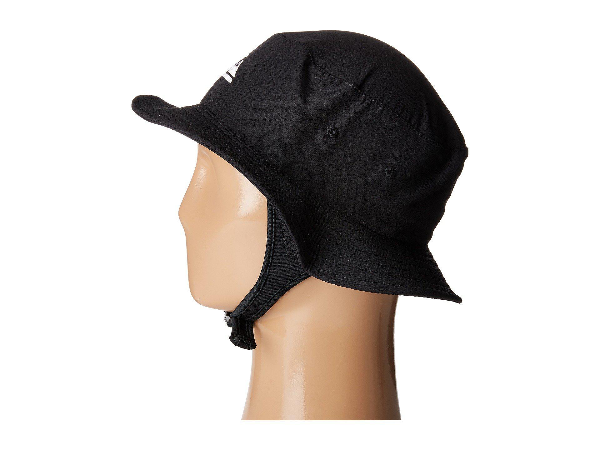 Lyst - Quiksilver Bushmaster Surf Hat (black) Bucket Caps in Black ... 5da4cd34953
