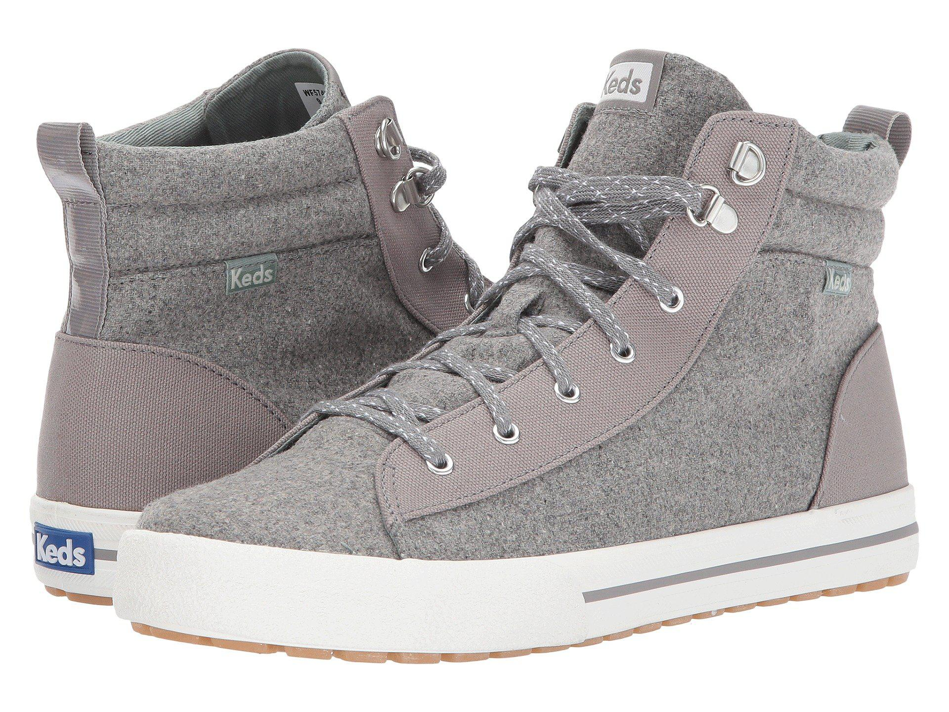 f51cf29194ded Lyst - Keds Topkick Wool in Gray for Men - Save 46%