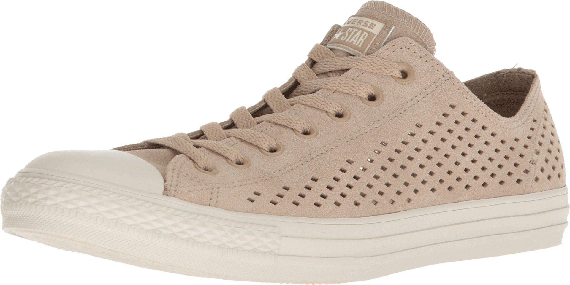 Converse Natural Chuck Taylor® All Star® Ox Perf Suede
