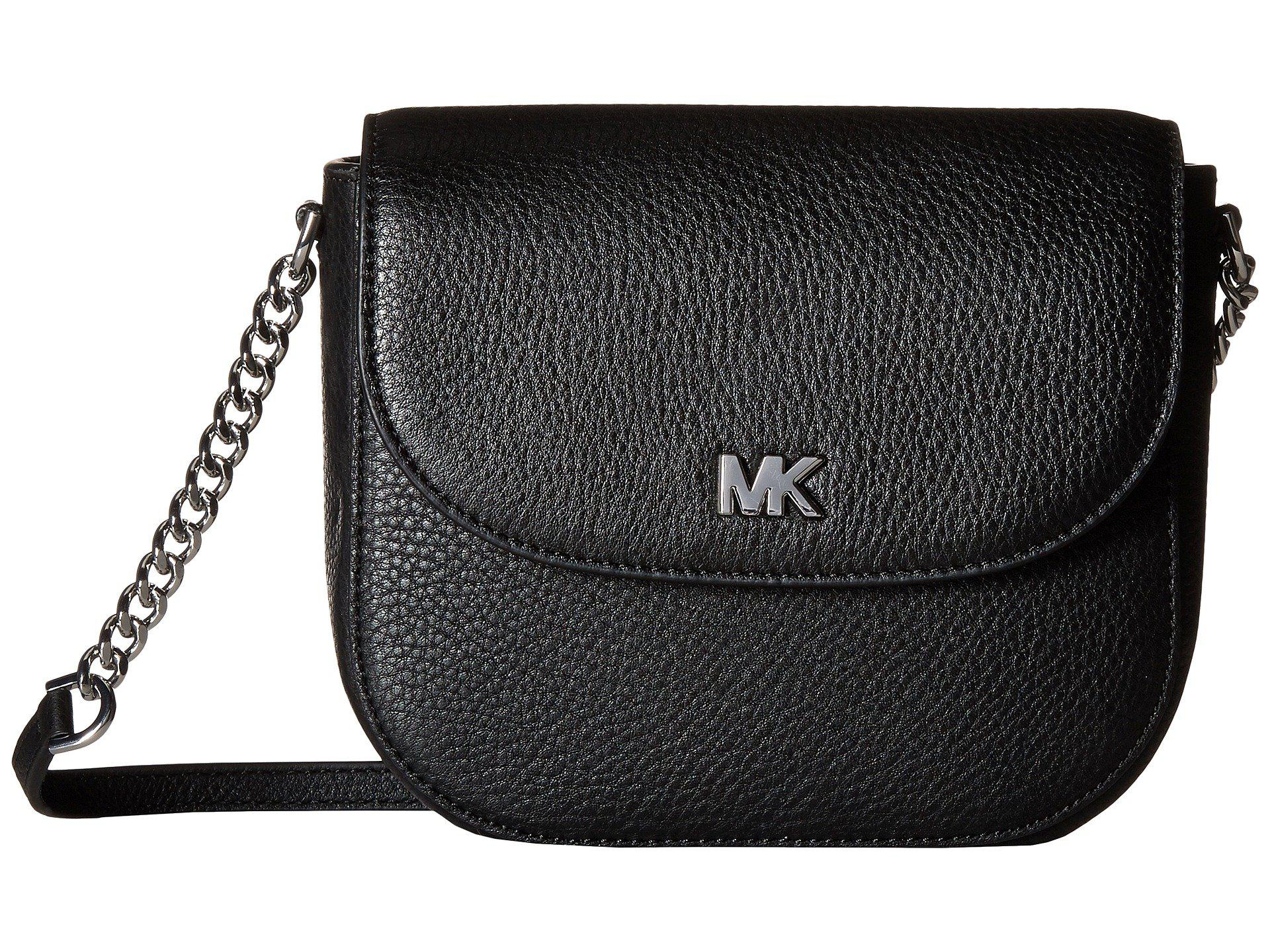 Lyst Michael Kors Half Dome Crossbody Black 2 Cross Body Michelangelo Bag