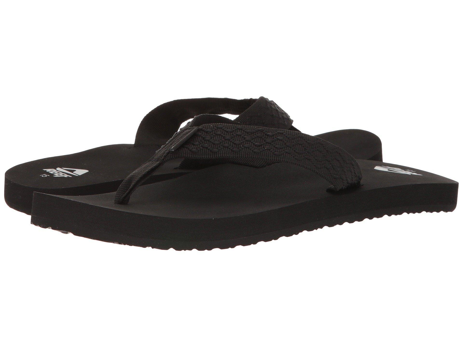 c9d67b2fe809 Lyst - Reef Smoothy (vintage Blue) Men s Sandals in Black for Men