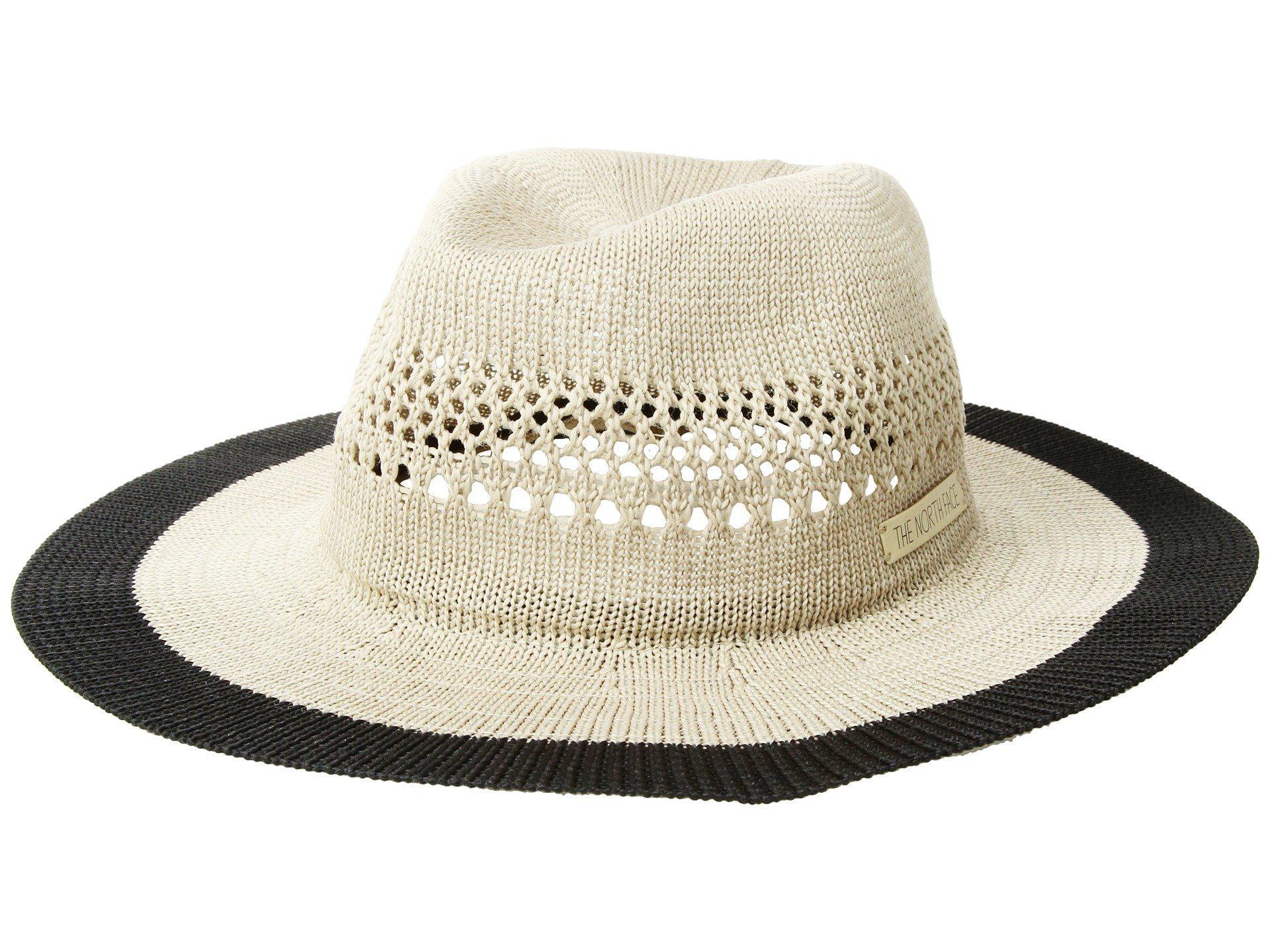 bdee6a433de Lyst - The North Face Packable Panama Hat (kelp Tan tnf Black ...