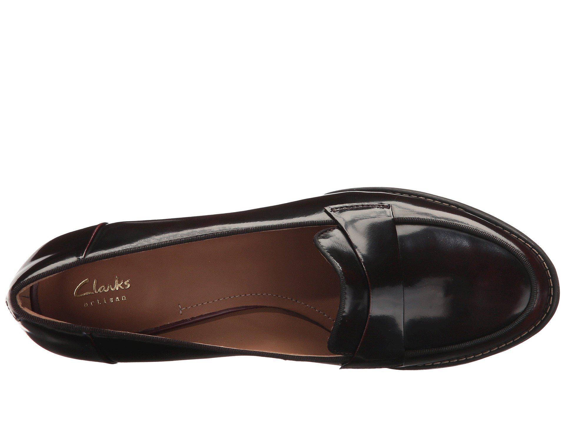 4627cb933ebc Clarks - Black Tarah Grace (burgundy Shiny Leather) High Heels - Lyst. View  fullscreen
