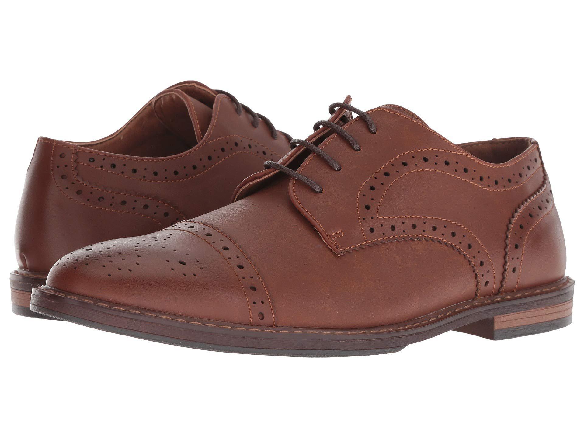 5186f8e5fe Lyst - Nunn Bush Palmer Cap Toe Oxford (cognac) Men s Shoes in Brown ...
