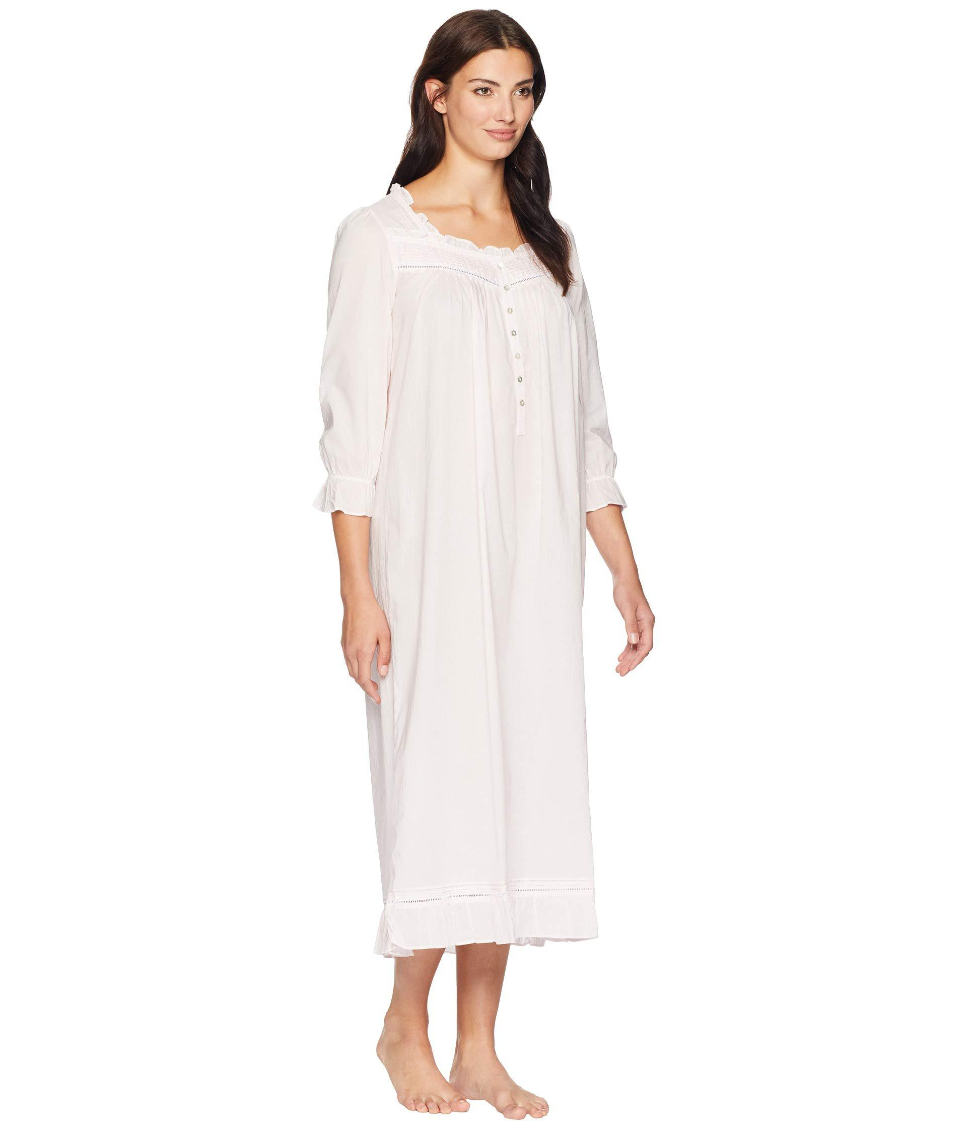 c111d65326 Lyst - Eileen West Cotton Lawn Long Sleeve Ballet Nightgown (solid ...