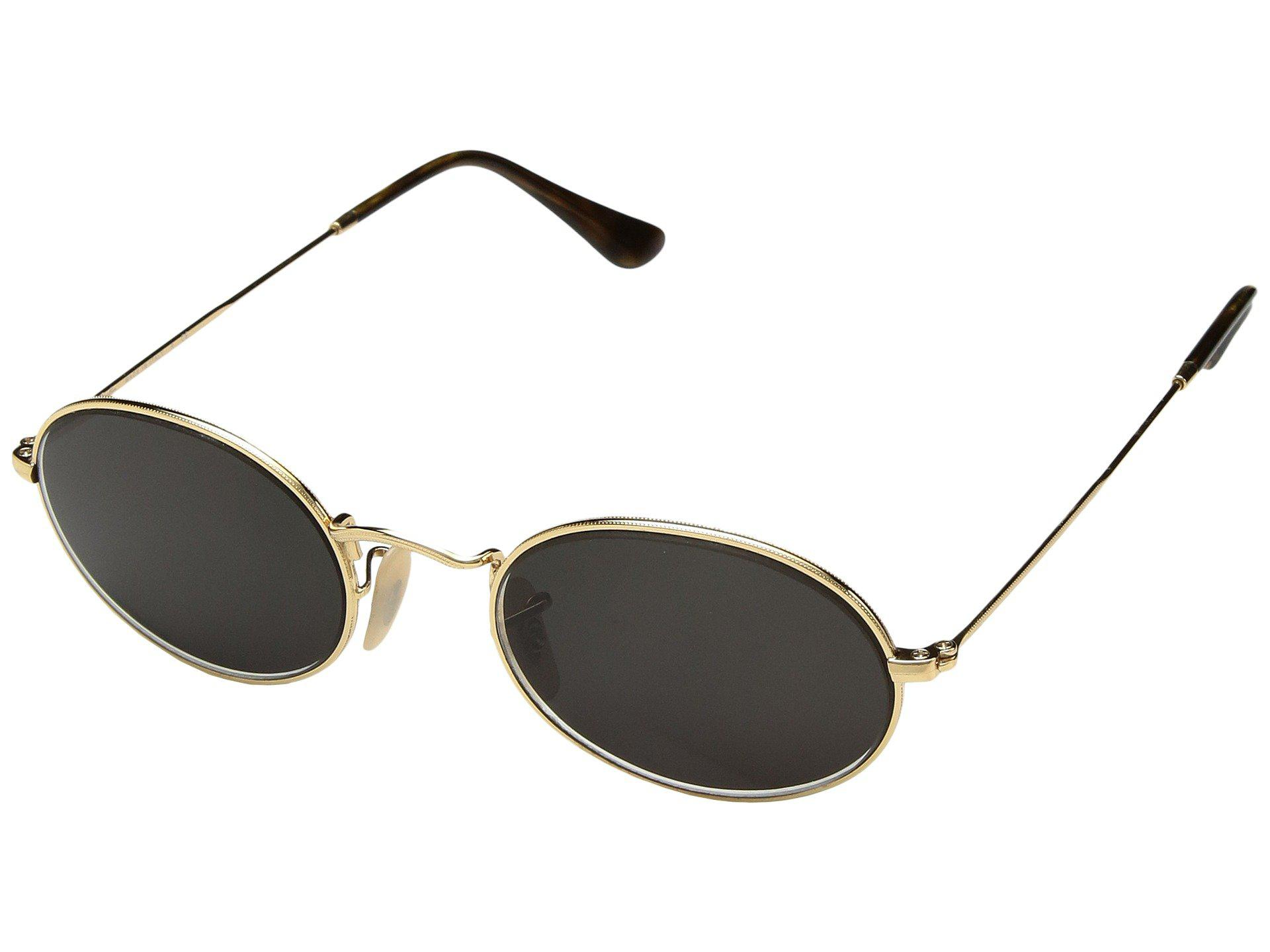 58a6d868db Lyst - Ray-Ban 0rb3547 Oval Flat Lenses 51mm (gold) Fashion ...