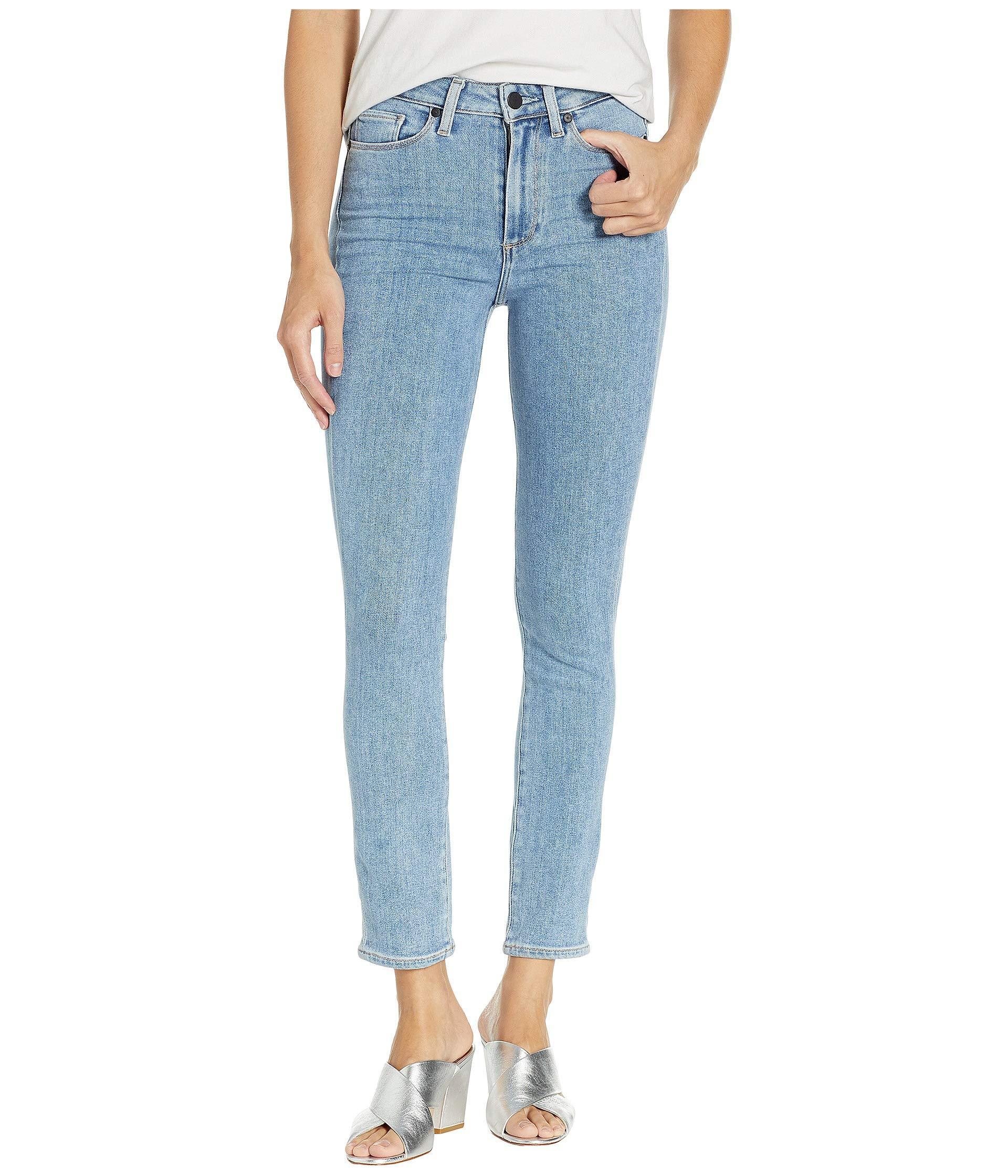 e1354b1408 Lyst - PAIGE Margot Ankle Peg In Miami (miami) Women's Jeans in Blue