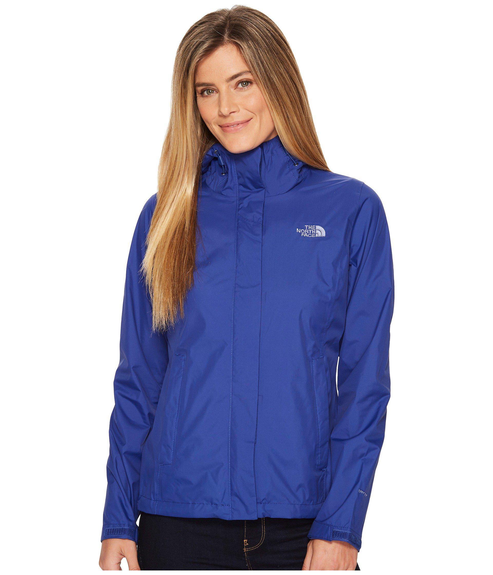 Lyst - The North Face Venture 2 Jacket (kokomo Green) Women s Coat ... 7c27f90d3