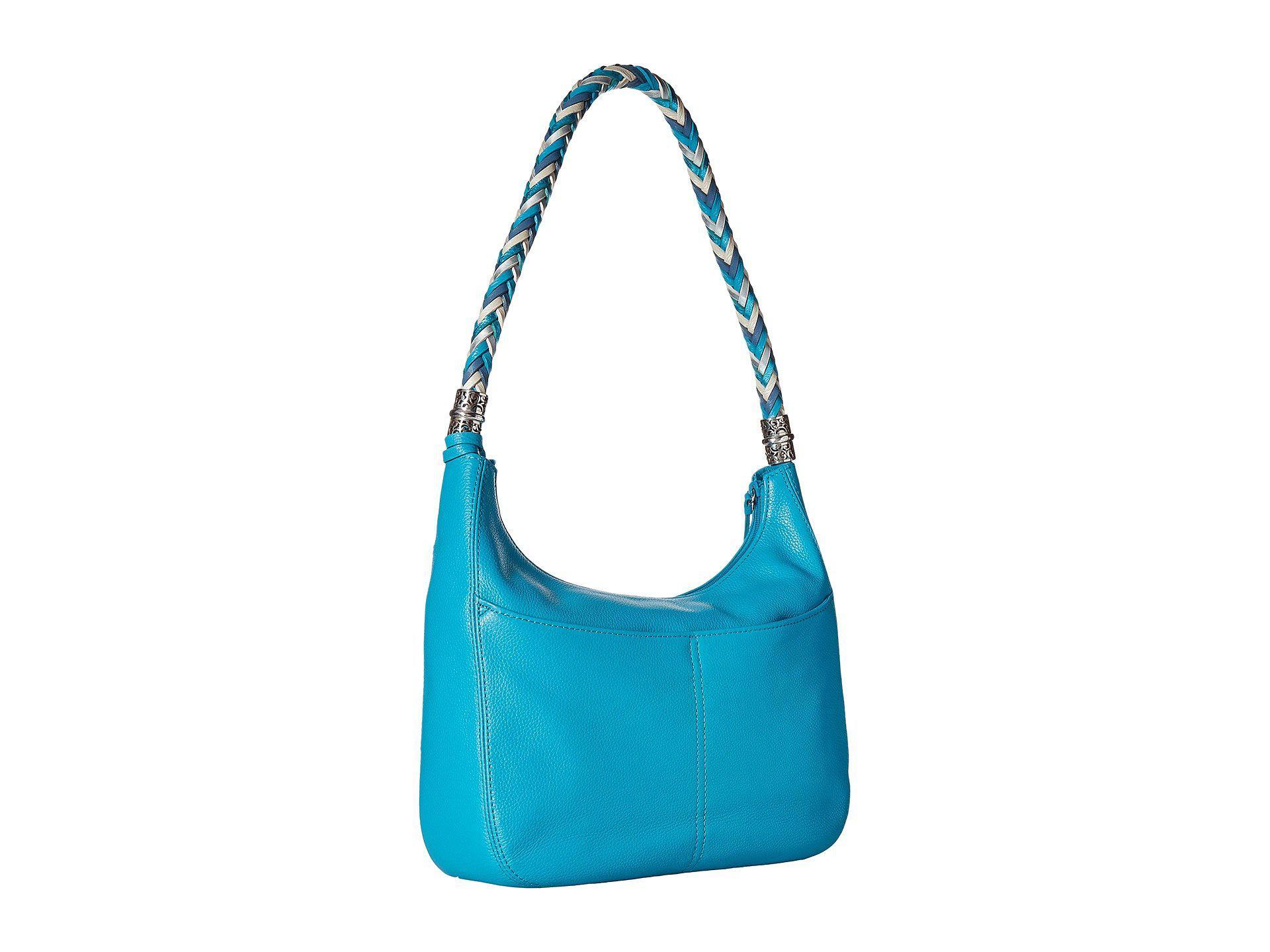 36e1eaf67489 Lyst - Brighton Barbados Ziptop Hobo in Blue