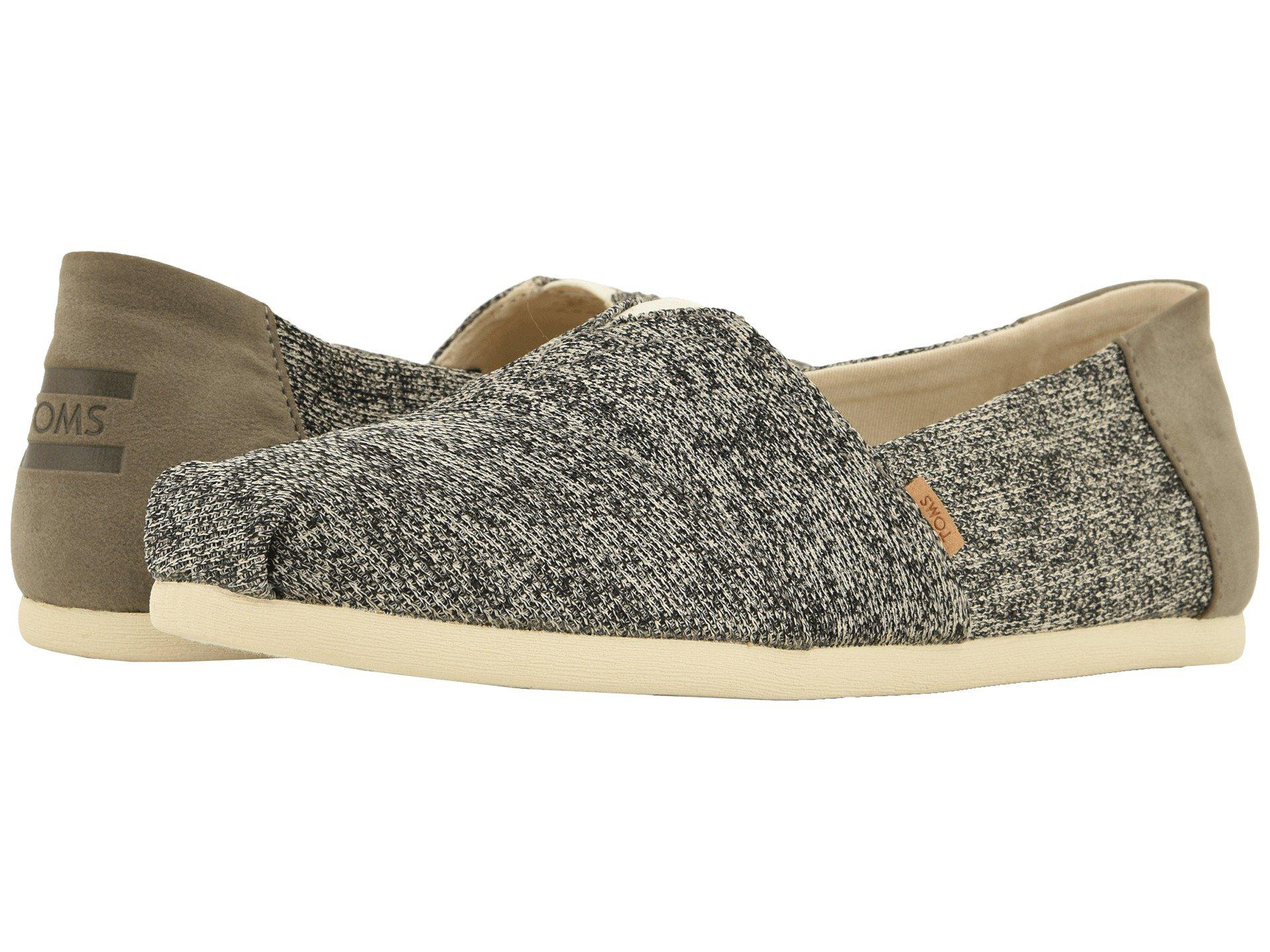 181ce655614 Lyst - TOMS Venice Collection Alpargata (black Heritage Canvas On ...