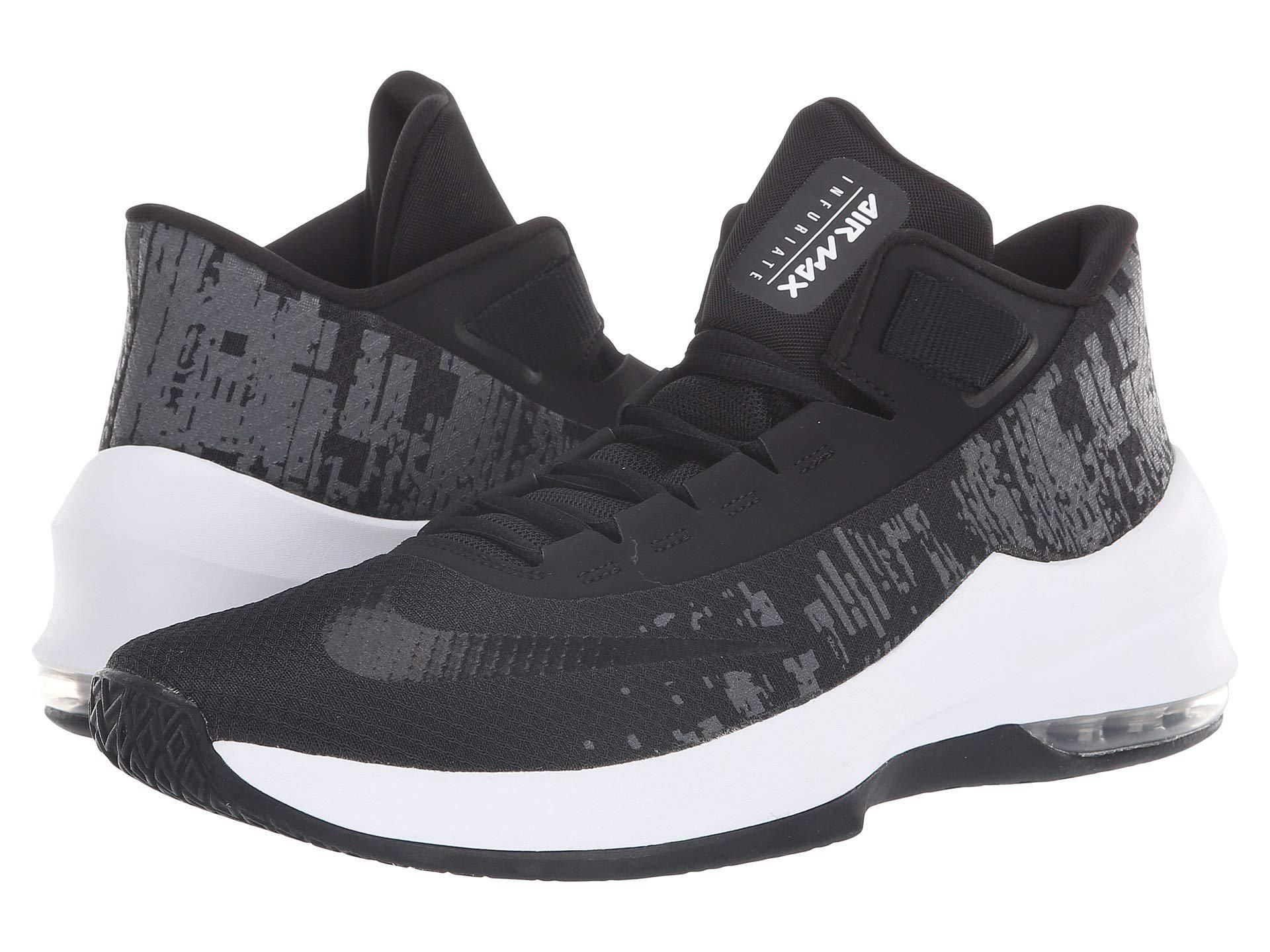 hot sale online e9002 a31f9 Nike. Air Max Infuriate 2 Mid (wolf Grey black dark Grey) Men s Basketball  Shoes