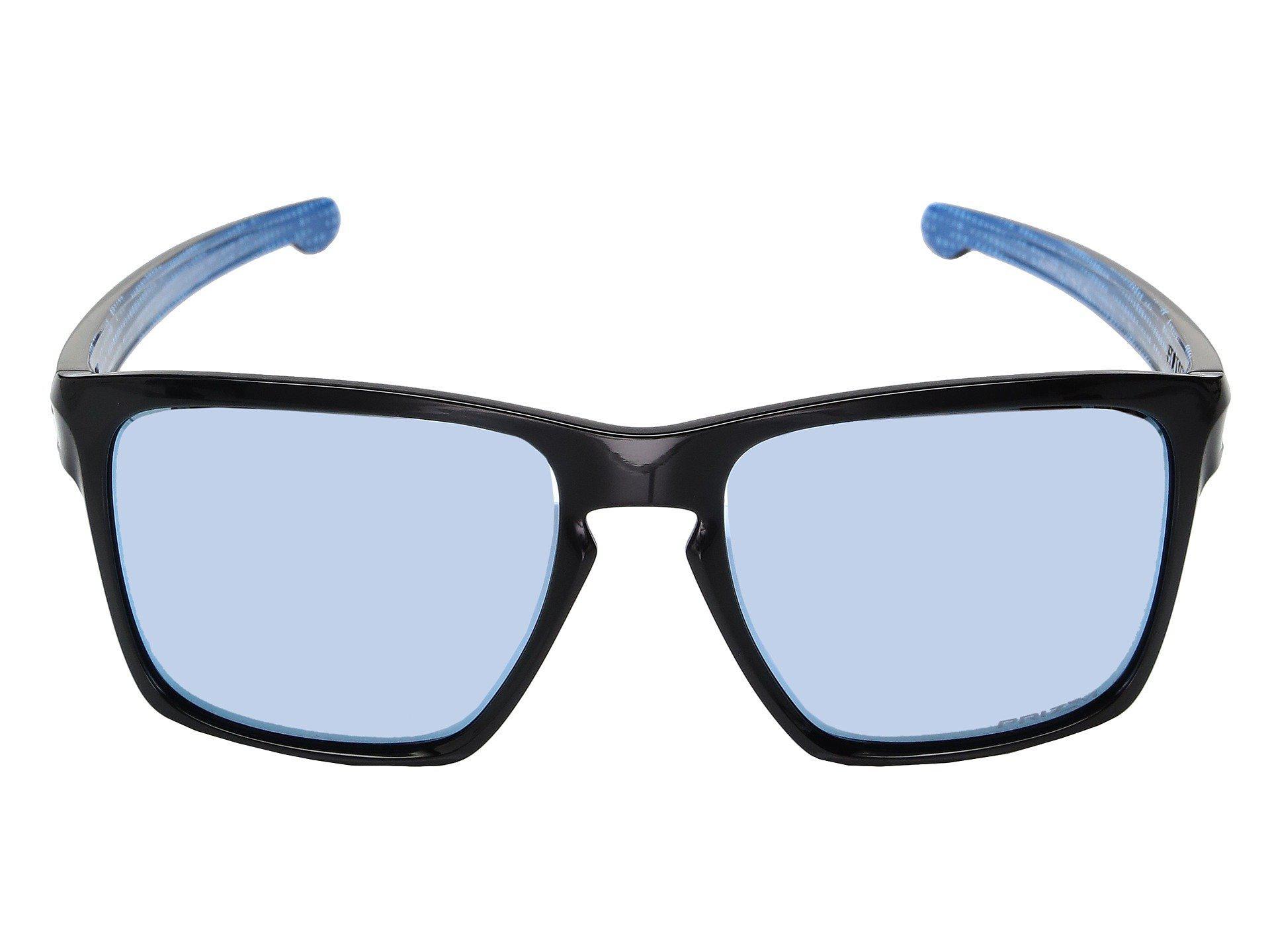 8a19ccb797 Oakley - Blue Sliver Xl (matte Black W  Prizm Black Polarized) Fashion  Sunglasses. View fullscreen