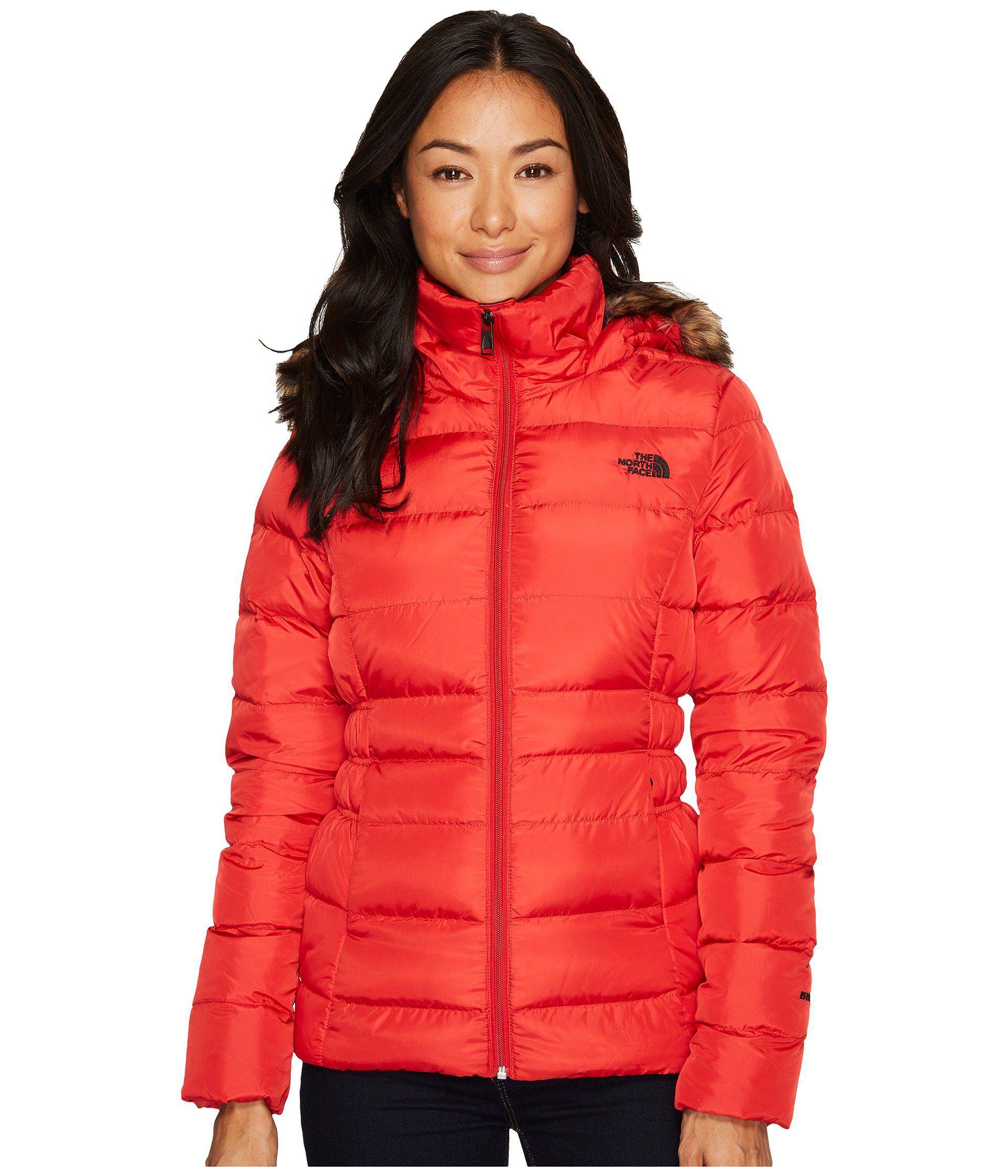 e04e43ea0c Lyst - The North Face Gotham Jacket Ii (metallic Copper) Women s ...