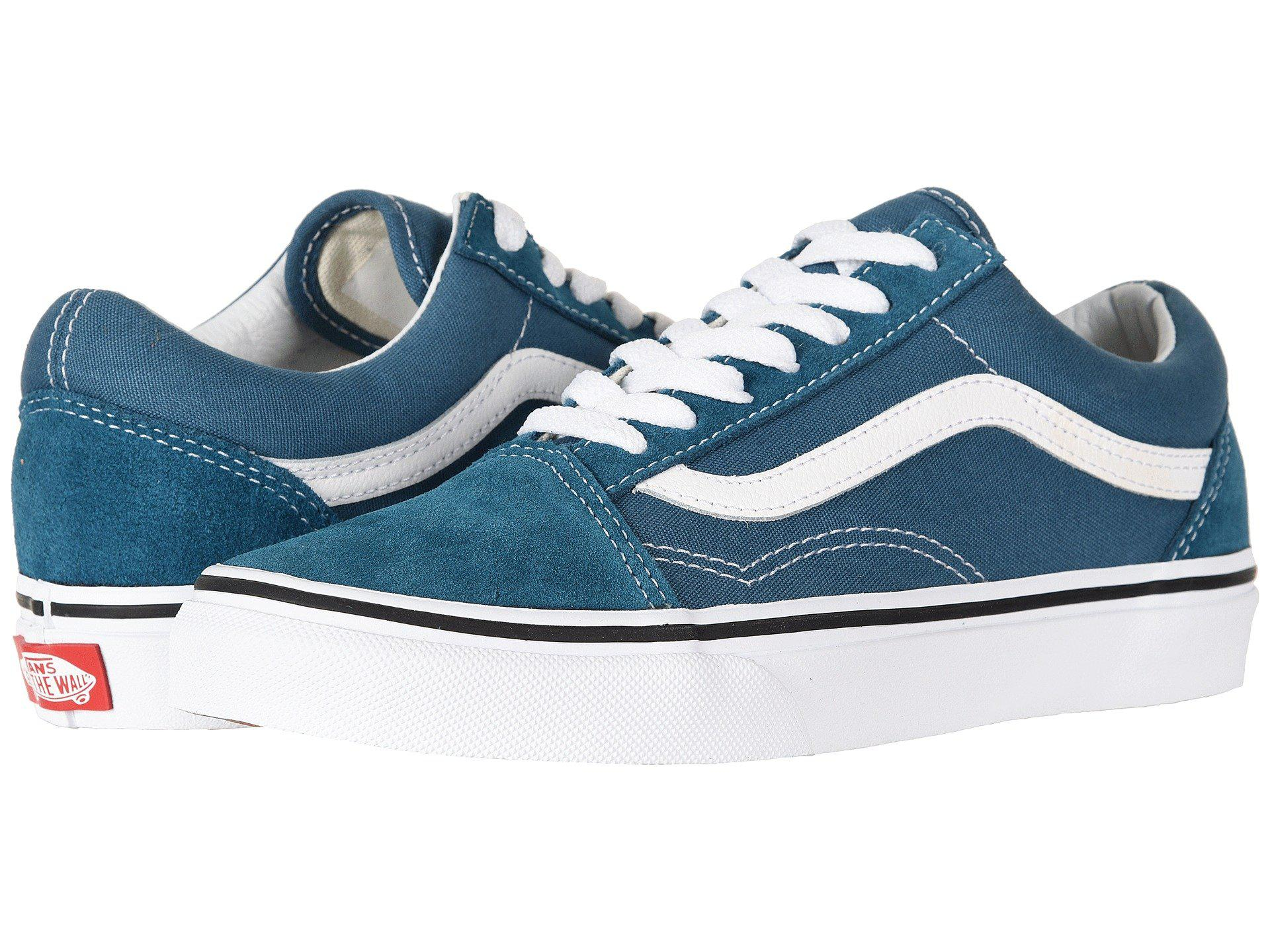 f6a429e51e Lyst - Vans Old Skooltm ((pig Suede) Stormy Weather true White ...