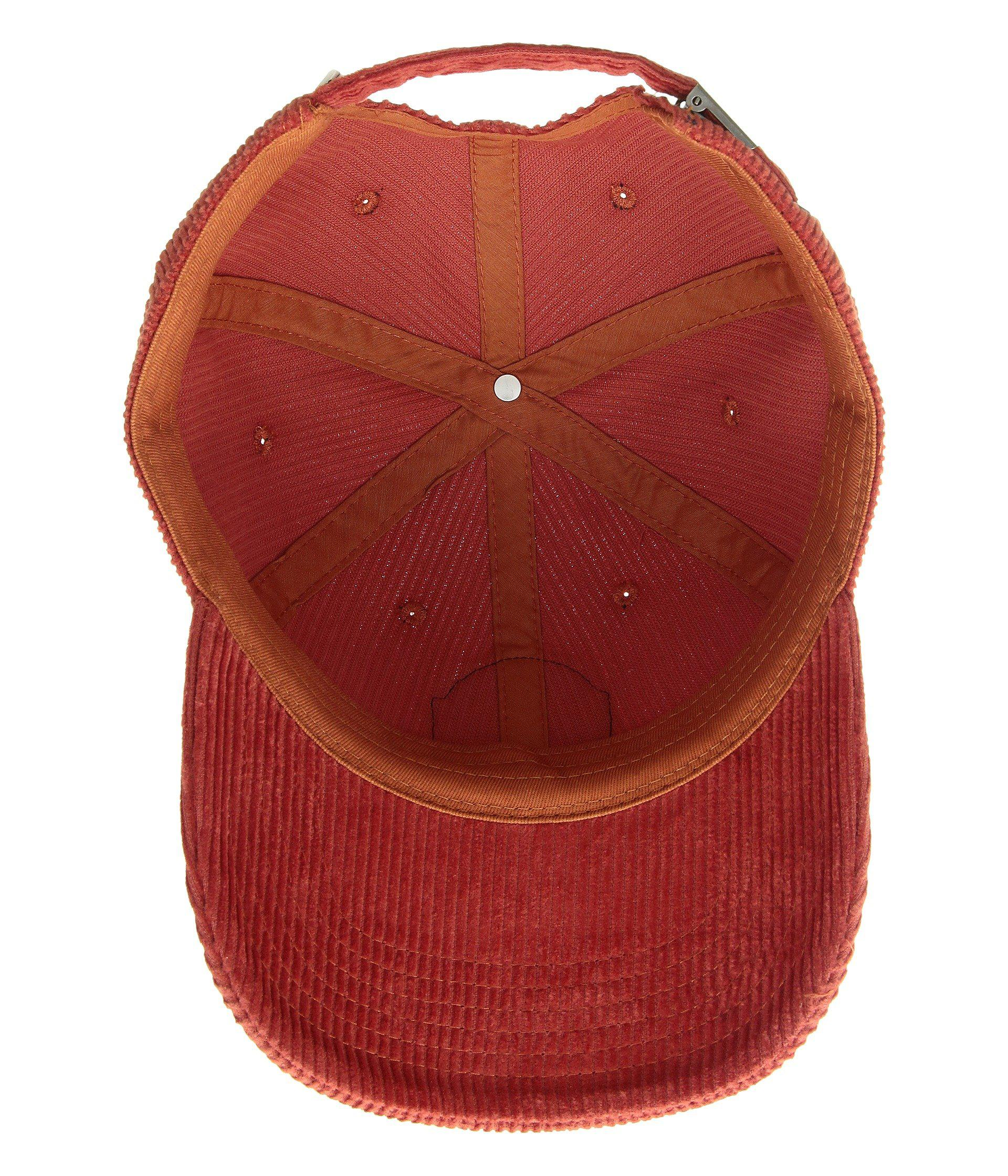 fdfbe900595 Lyst - Vans Summit Court Side Hat (black) Baseball Caps in Red