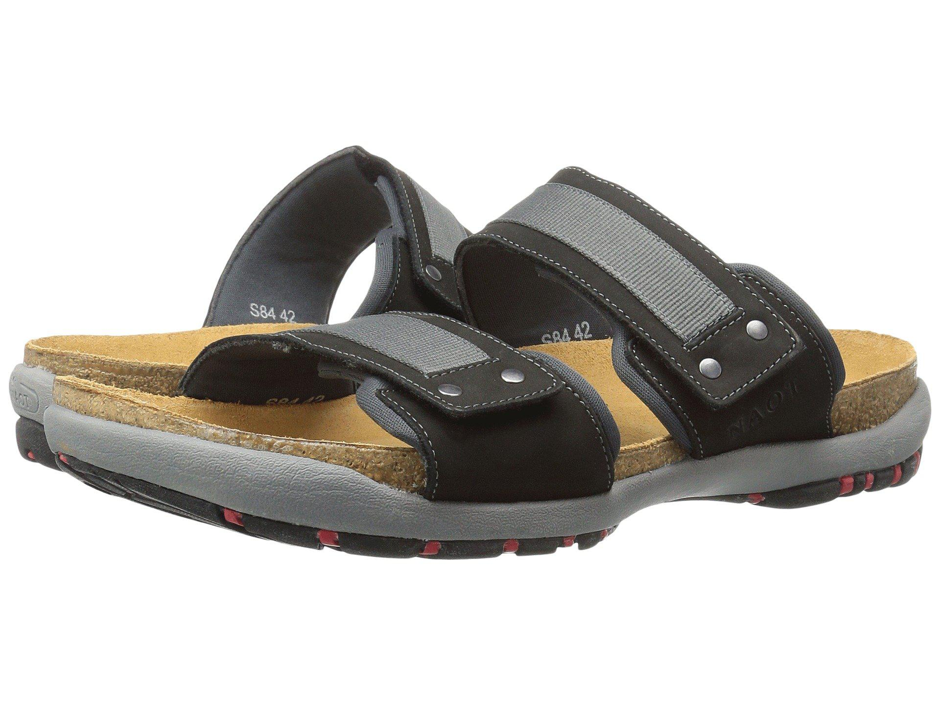 1dcba87031cf Lyst - Naot Climb (bison Leather) Men s Sandals in Black for Men