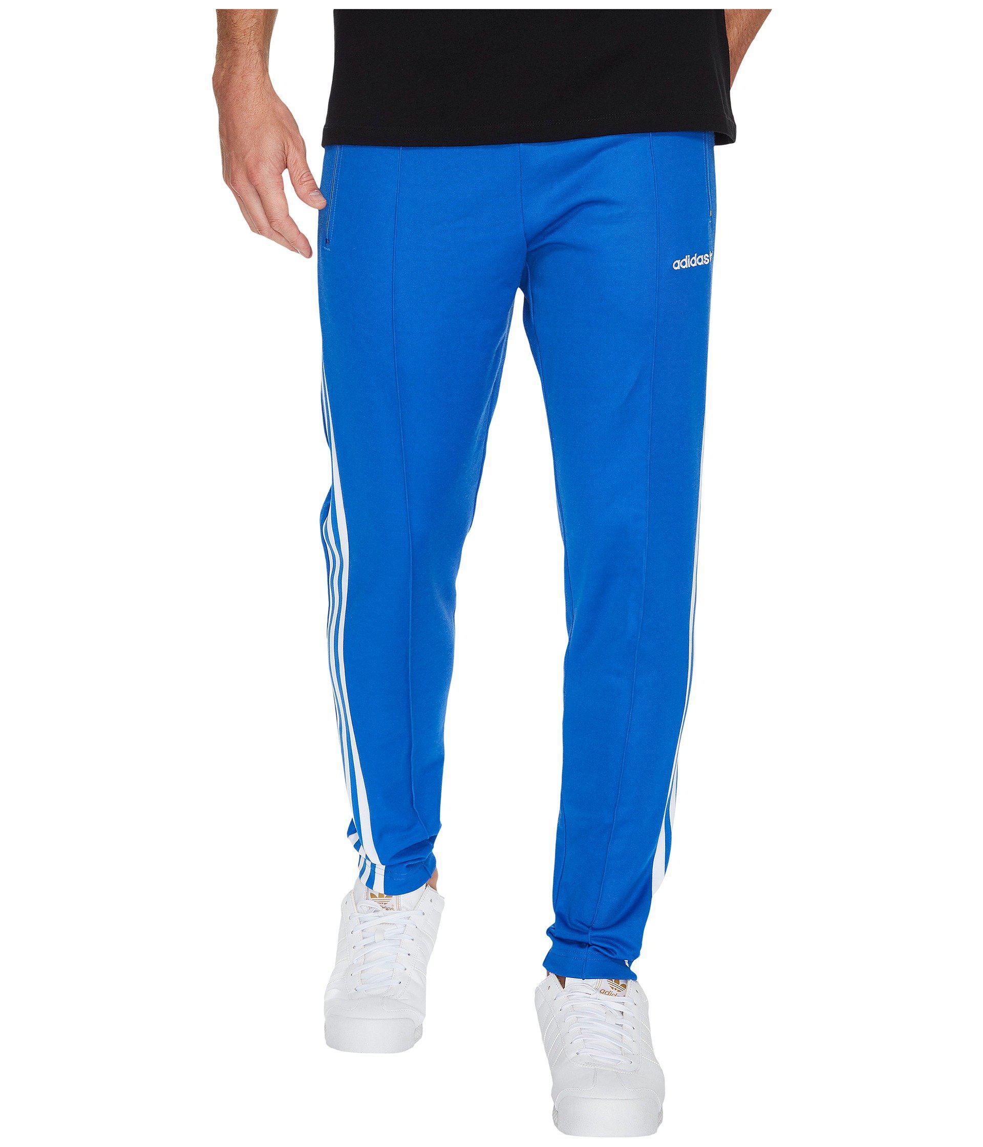 9df3c0a4308a Lyst - adidas Originals Beckenbauer Open Hem Track Pants (black ...