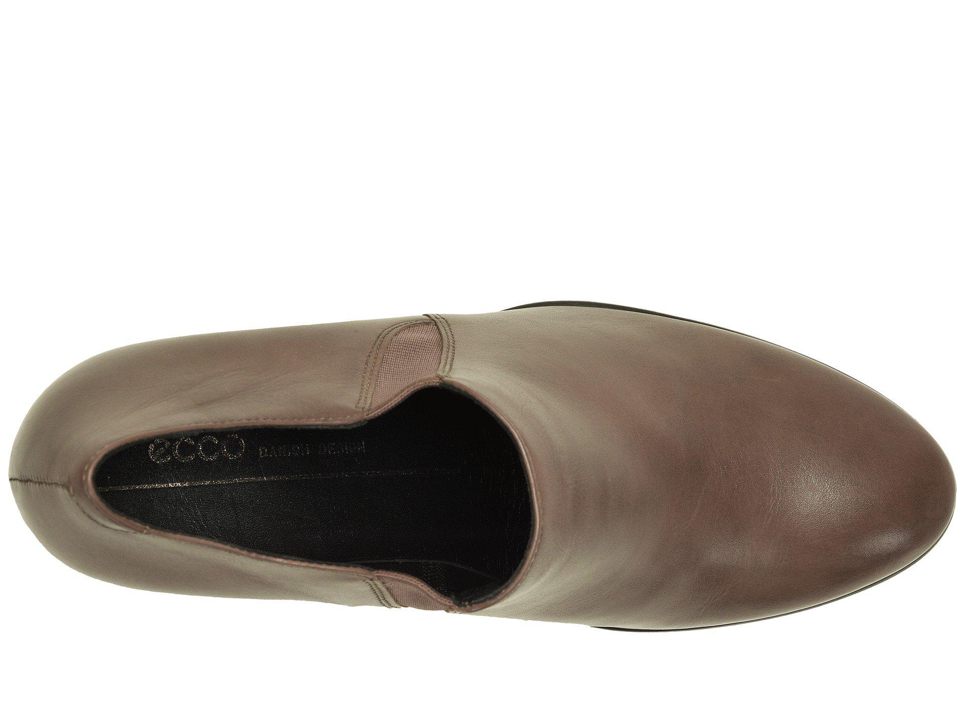 f553afcc5a0 Ecco - Brown Shape 55 Plateau Stack Shootie (deep Taupe Calf Leather) High  Heels. View fullscreen