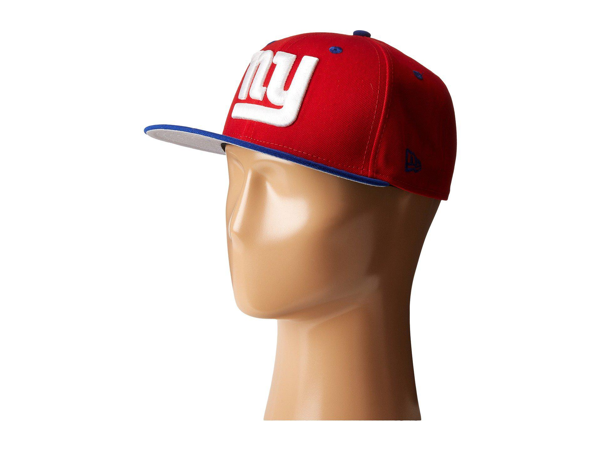 Lyst - KTZ Nfl Two-tone Team New York Giants (red) Baseball Caps in ... 16f53275f