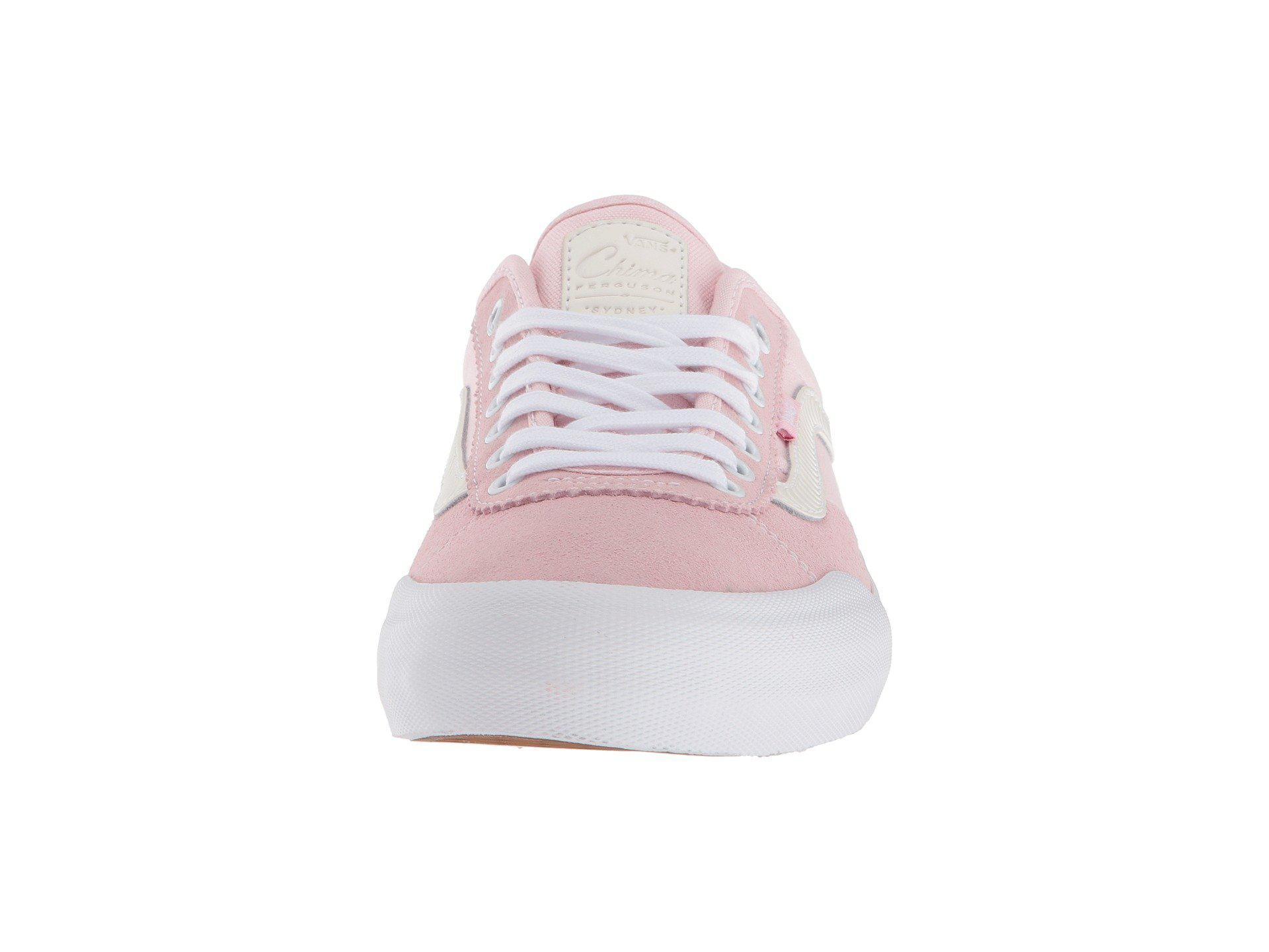 0ad7b41a3fcc Lyst - Vans Chima Pro 2 (dark Denim dachshund) Men s Skate Shoes in Pink