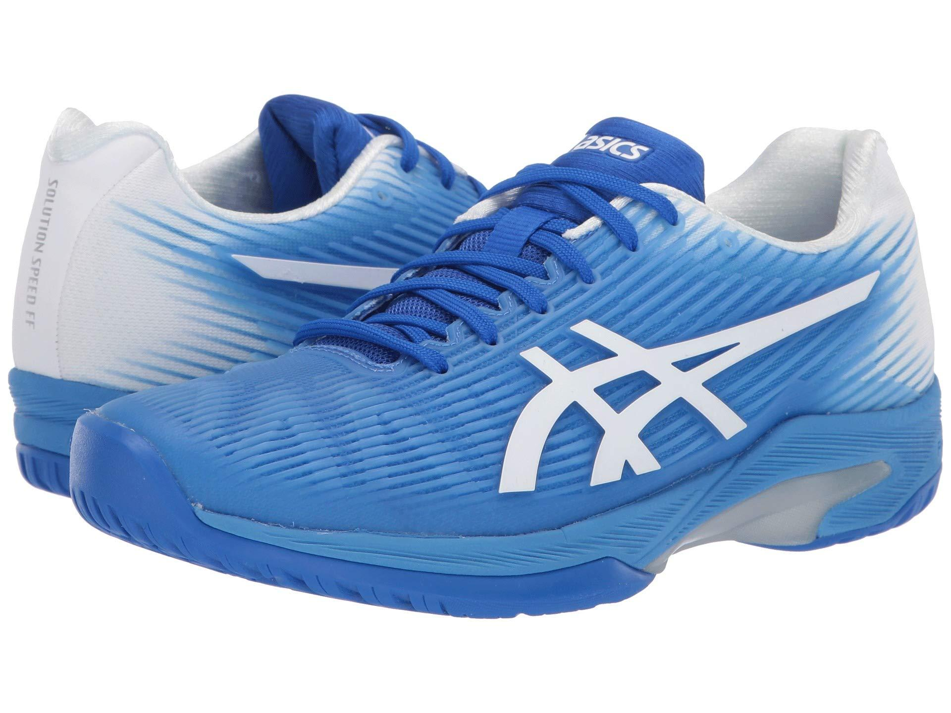 8fa1c7ffb906 Asics. Blue Solution Speed Ff (grand Shark papaya) Women s Tennis Shoes