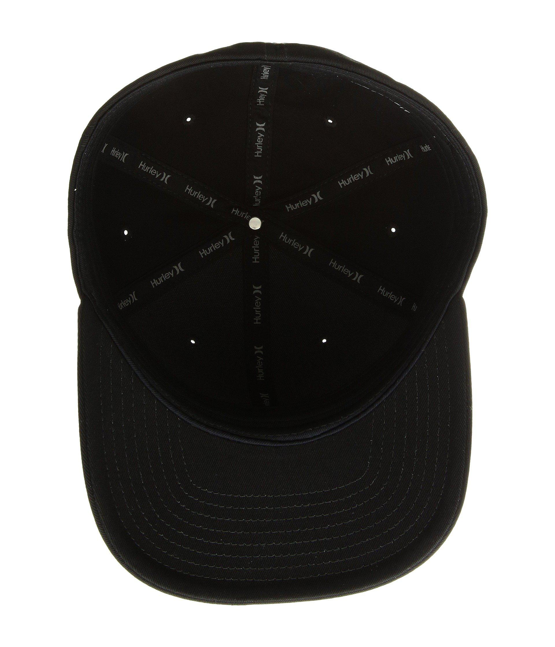 buy online 643a1 45fc5 ... coupon code lyst hurley corp hat black caps in black for men 8145b 38240