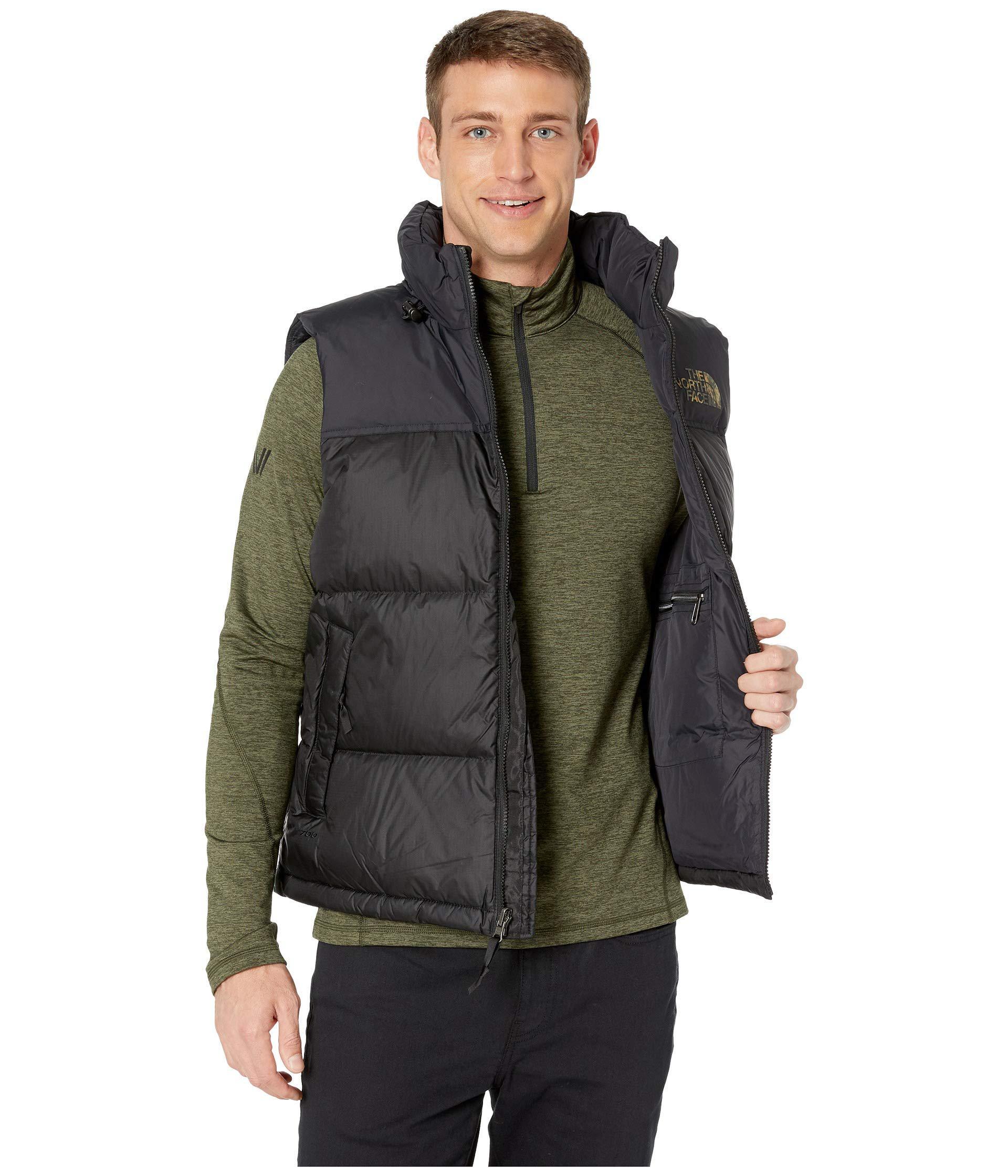 9f4c2c8302aa ... Novelty Nuptse Vest (tnf Black Macrofleck Print) Men s. View fullscreen