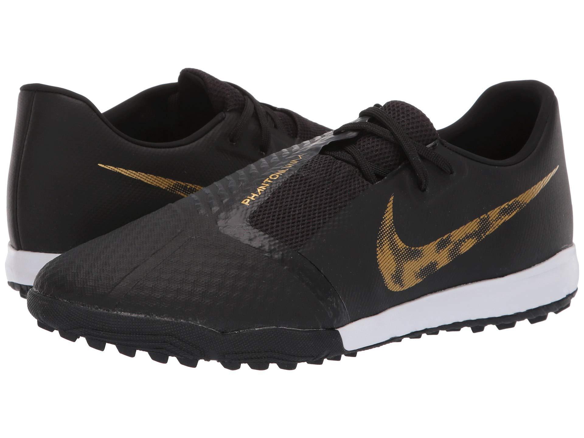 c45d6f5be Nike. Phantom Venom Academy Tf (black metallic Vivid Gold) Men s Soccer  Shoes