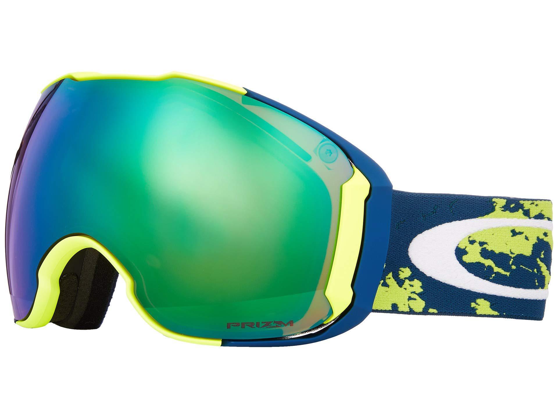 3c327c0f393 Oakley. Men s Airbrake Xl (camo Vine Jungle W  Prizm Jade Iridium prizm  Rose) Goggles