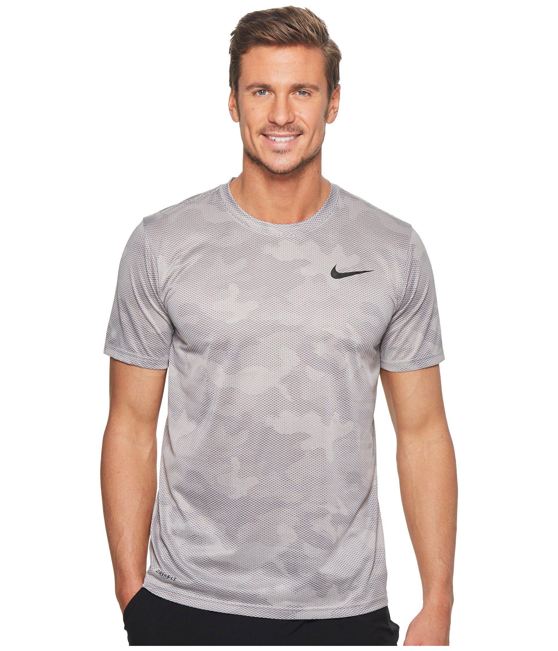 9c5c599b Nike Dry Legend Training T-shirt (atmosphere Grey/gunsmoke) Men's T ...