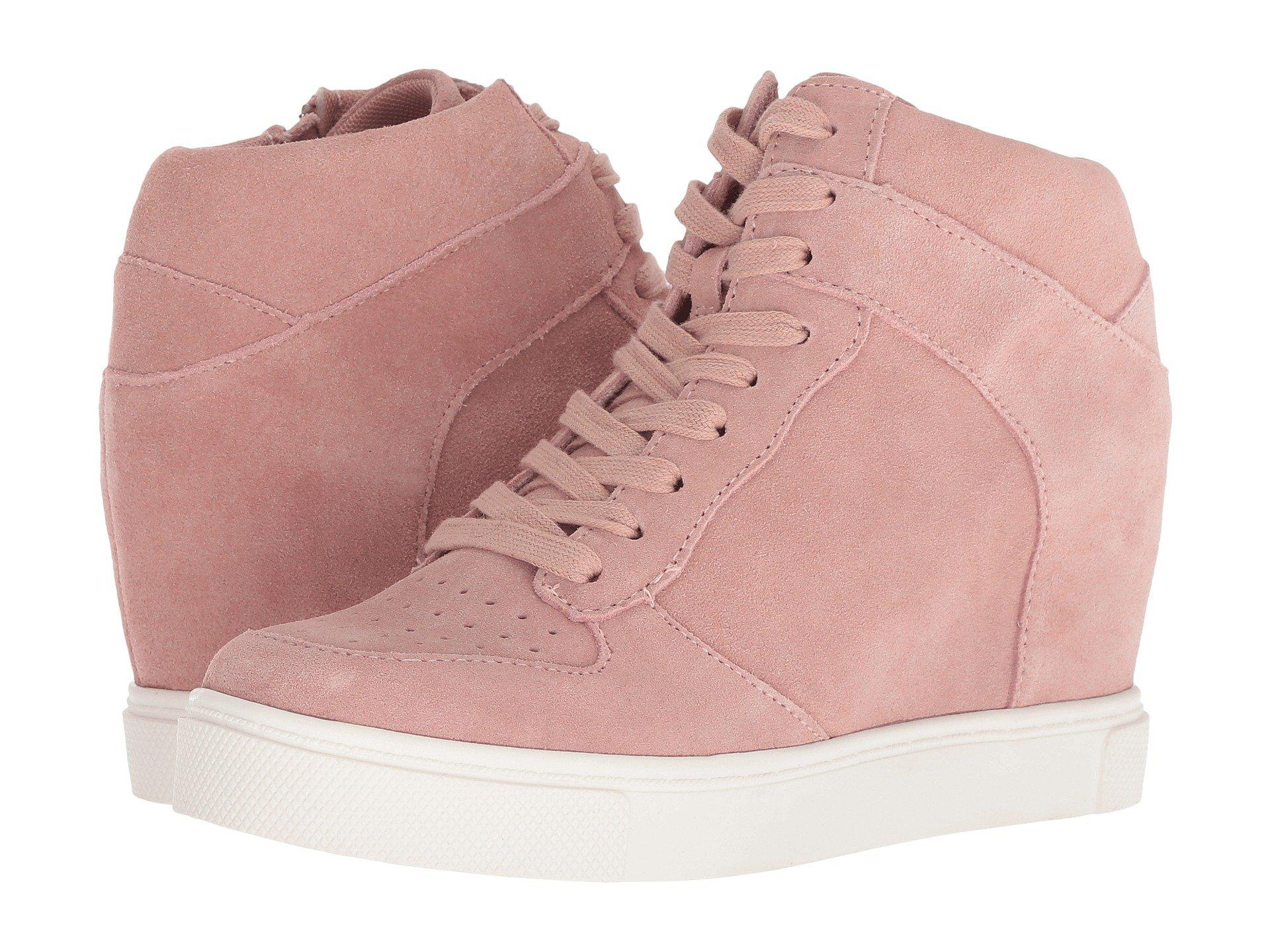 194e6f1e7b9 Lyst - Steve Madden Noah (pink Suede) Women s Shoes in Pink