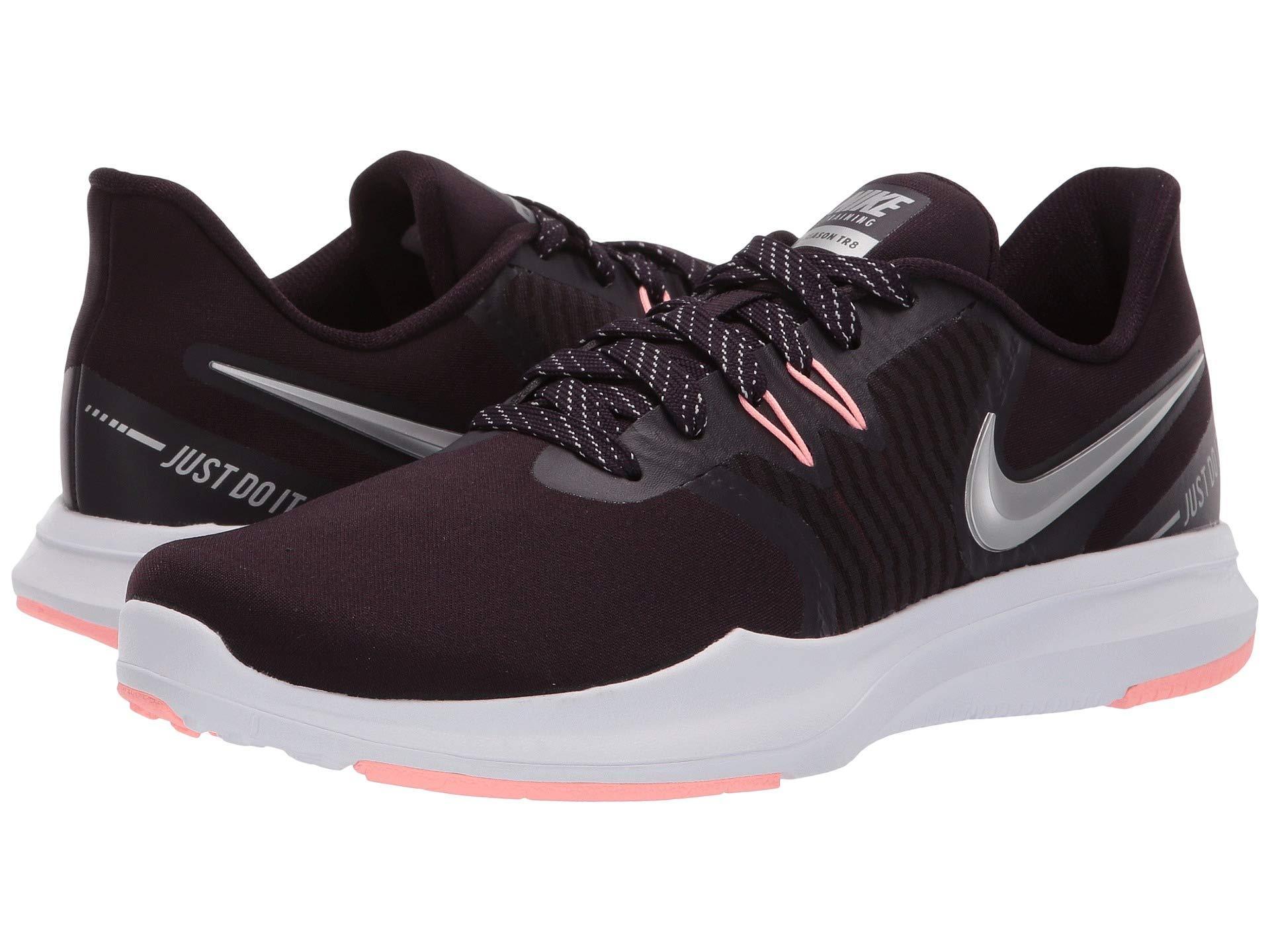 927480439c378 Nike. Metallic In-season Tr 8 (barely Grey ember Glow) Women s Cross Training  Shoes