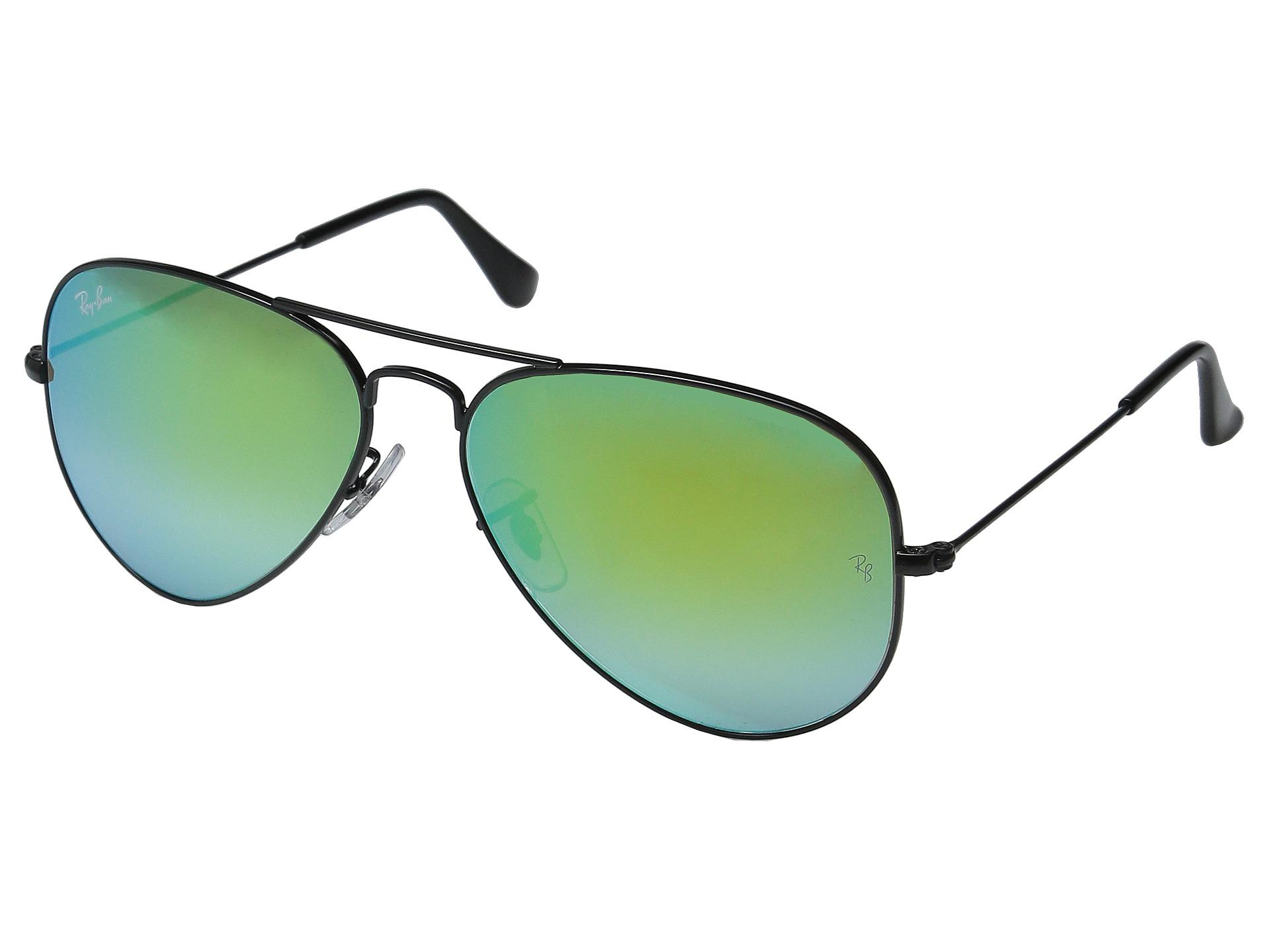 e66f41f2ede Lyst - Ray-Ban Rb3025 Original Aviator 58mm in Green