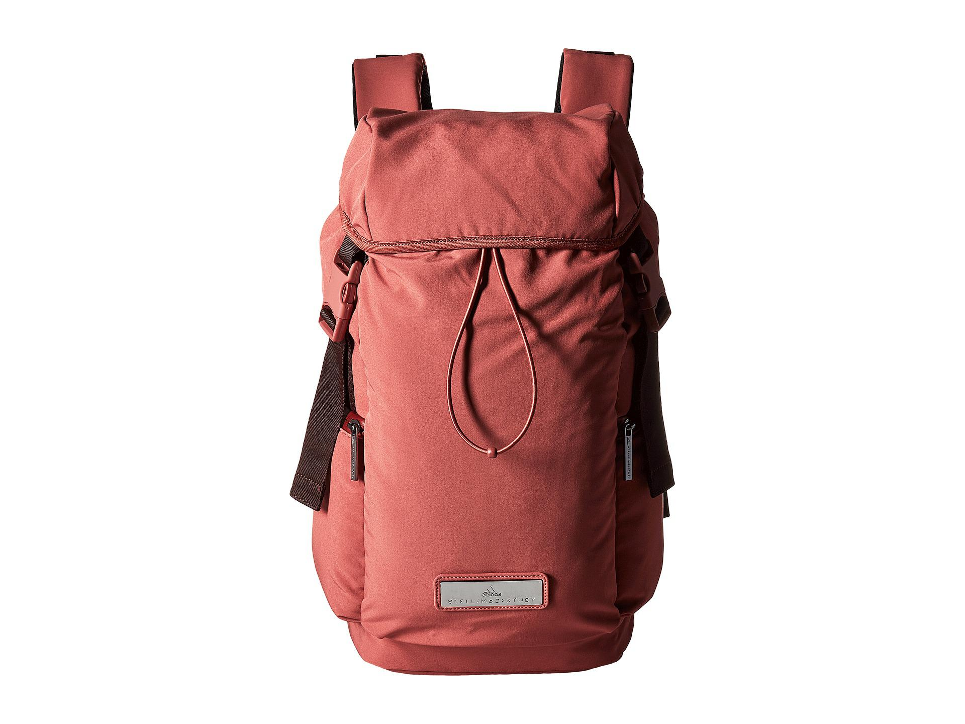 86fd9b99e4 Lyst - adidas By Stella McCartney Athletics Large Backpack in Red