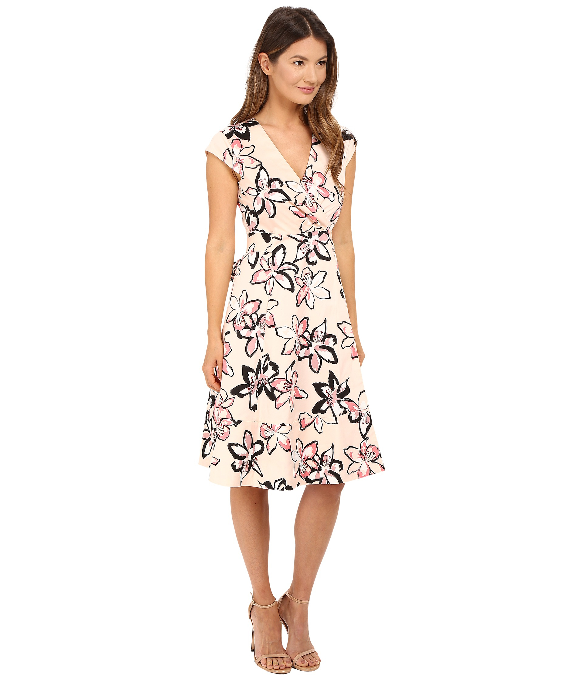 647f9ecce Lyst - Kate Spade Tiger Lily Wrap Dress
