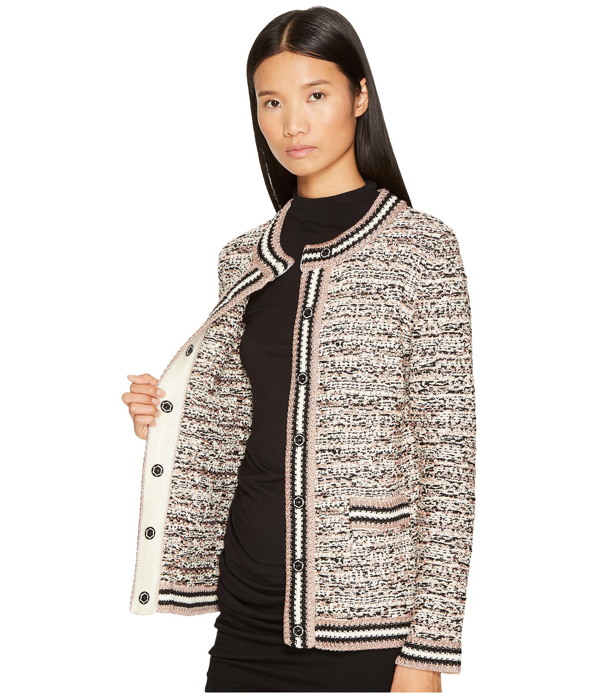 03eb97fd7d Lyst - M Missoni Lurex Tweed Jacket in Black