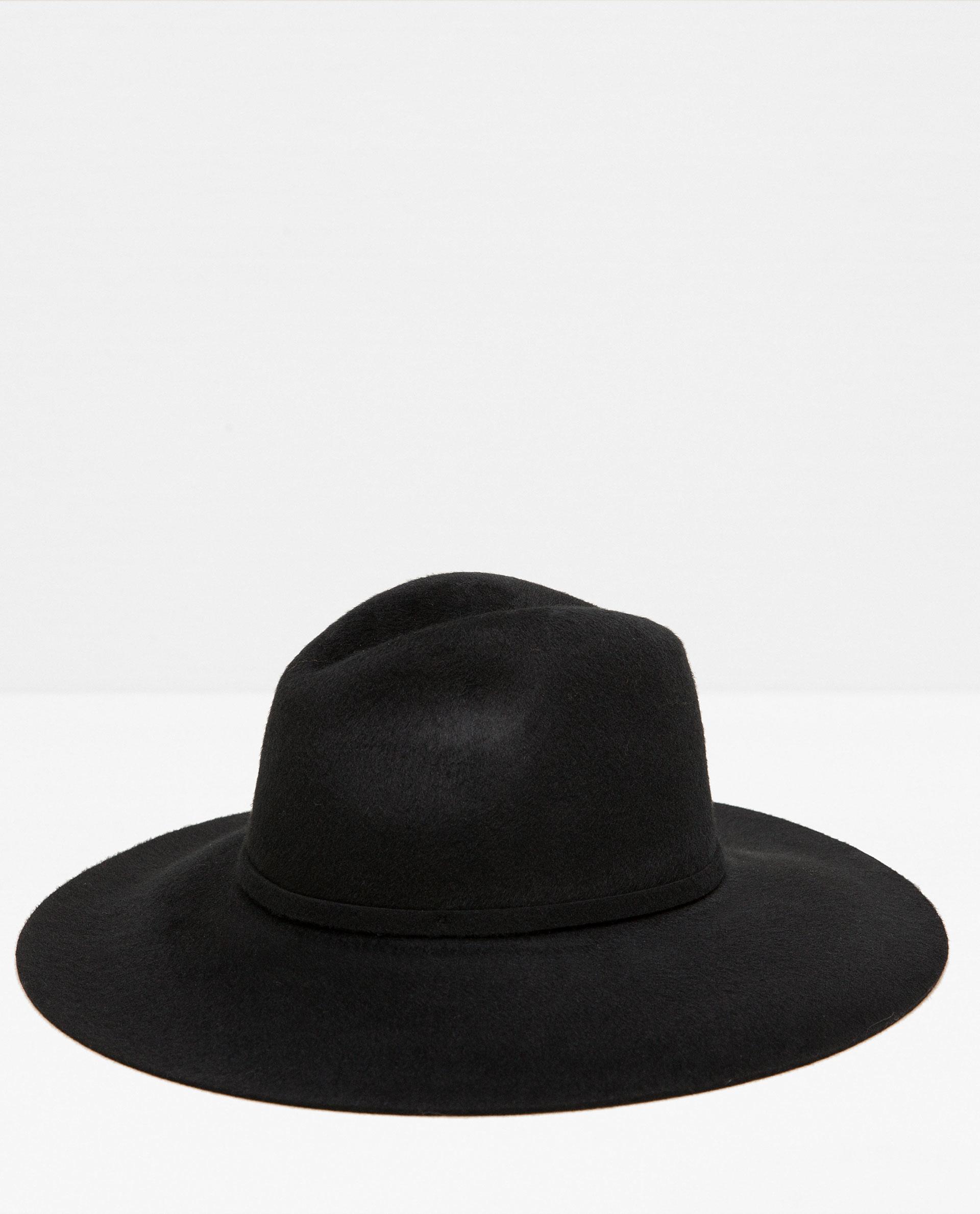 zara special edition soft touch wide brim hat lyst