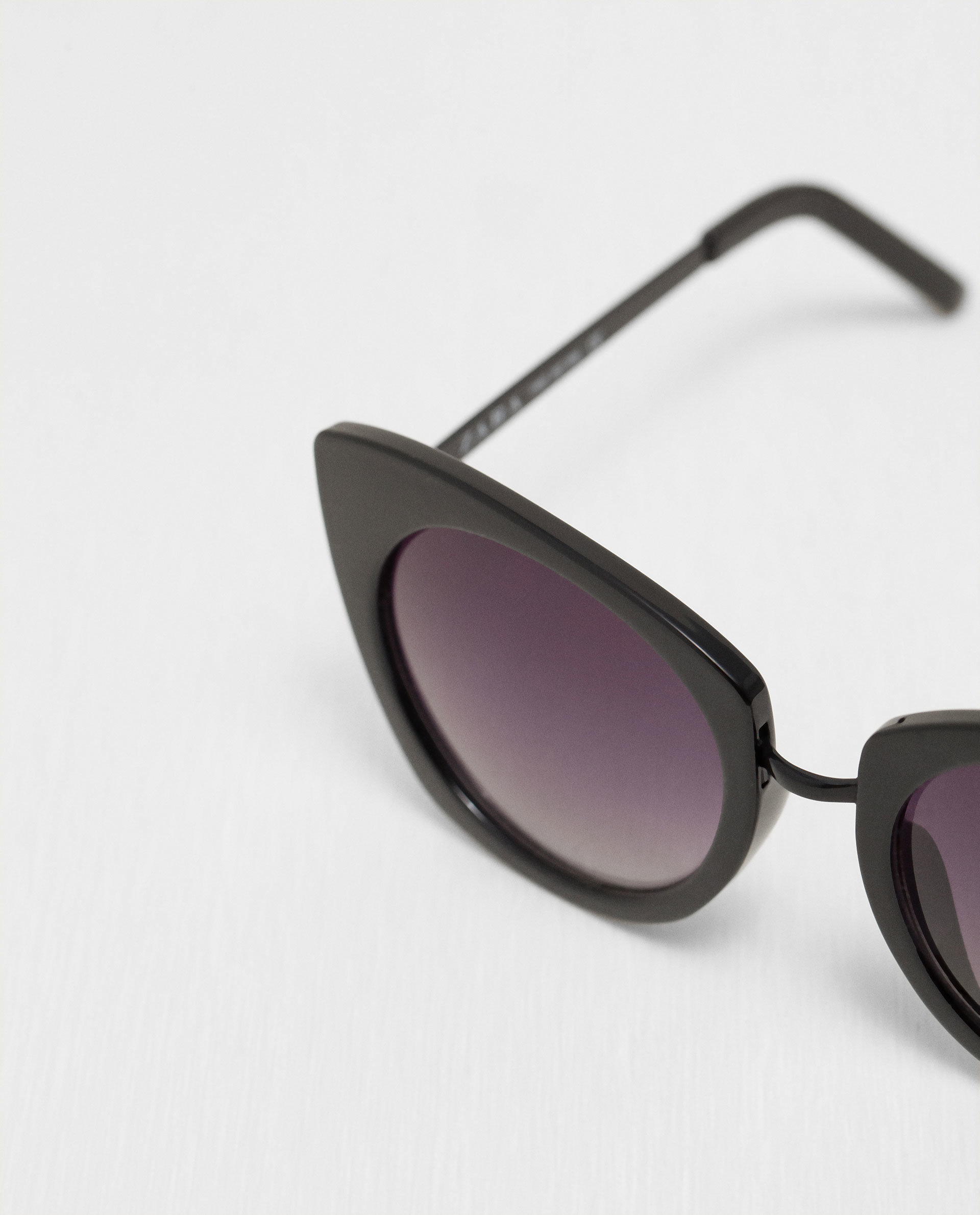 Zara Glasses With Metallic Arms Lyst