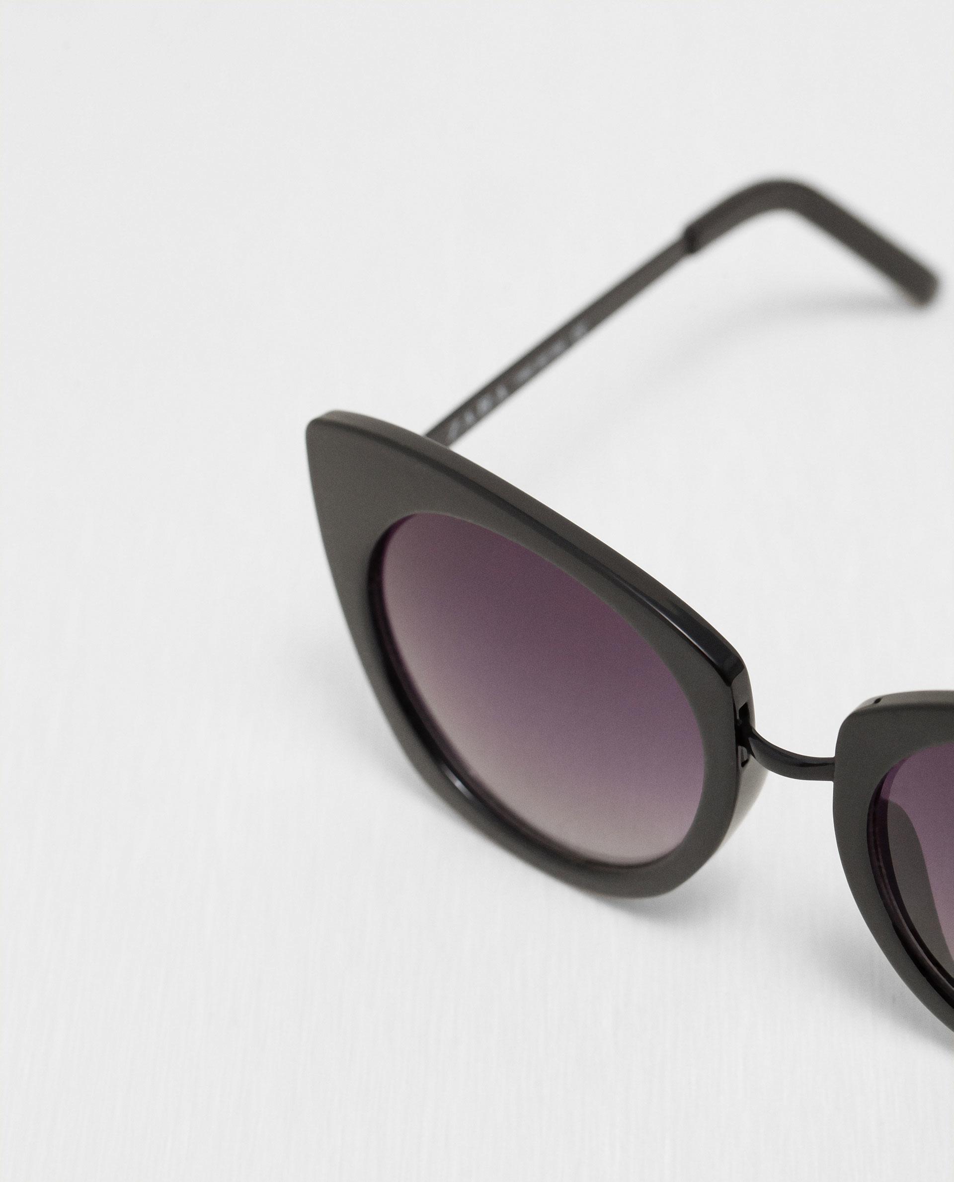 Zara Glasses Frames : Zara Glasses With Metallic Arms Lyst