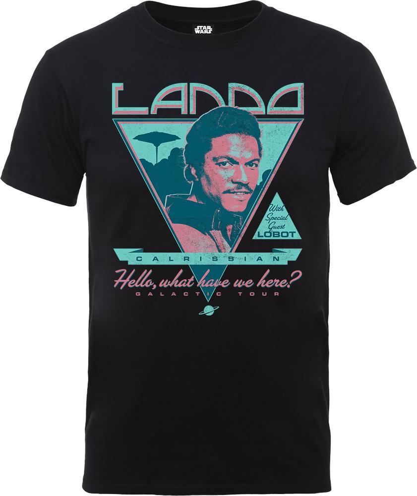 aeac69e4 Star Wars Lando Rock Poster T-shirt in Black for Men - Lyst