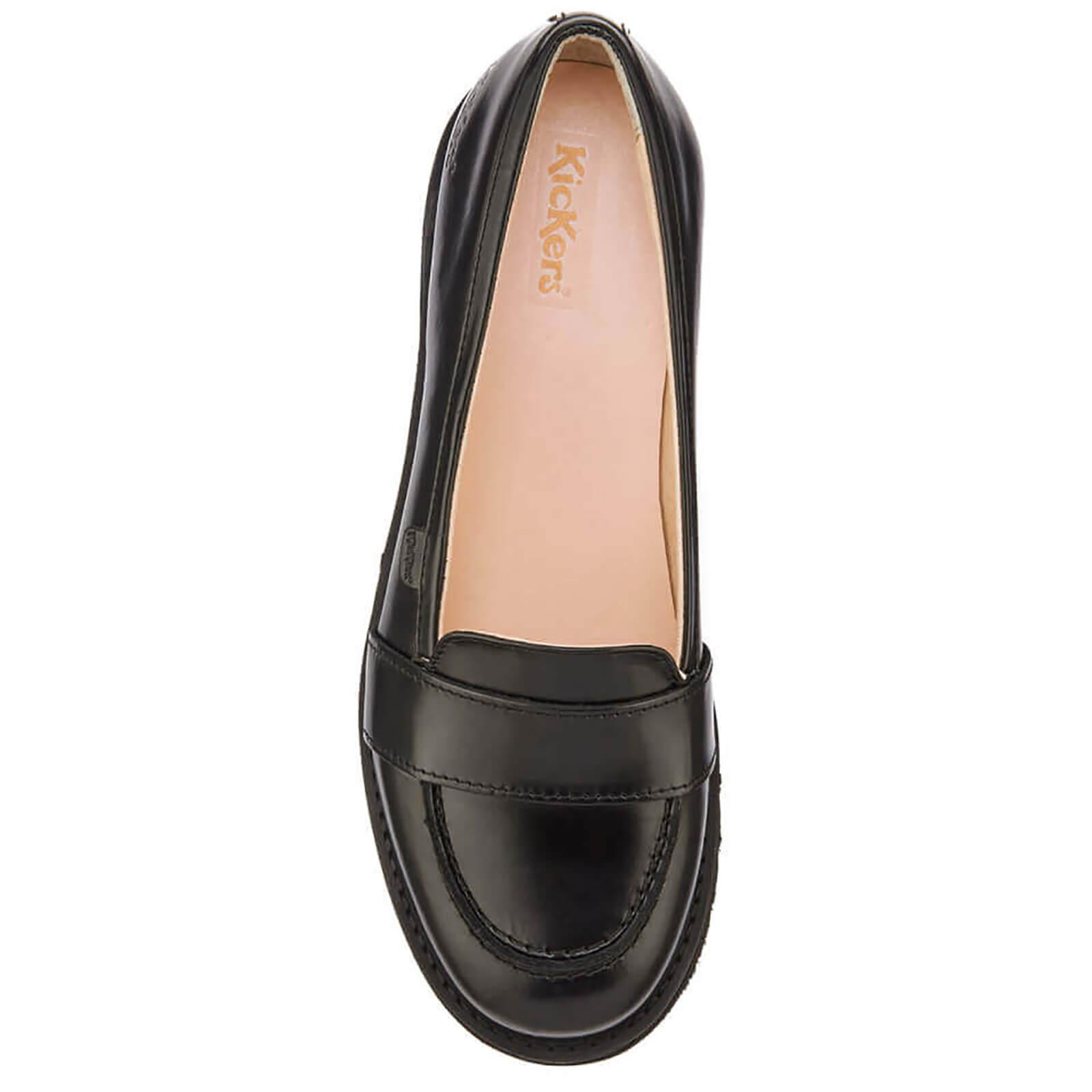 670199bc52f Kickers - Black Kick C Lite Strap Loafers - Lyst. View fullscreen
