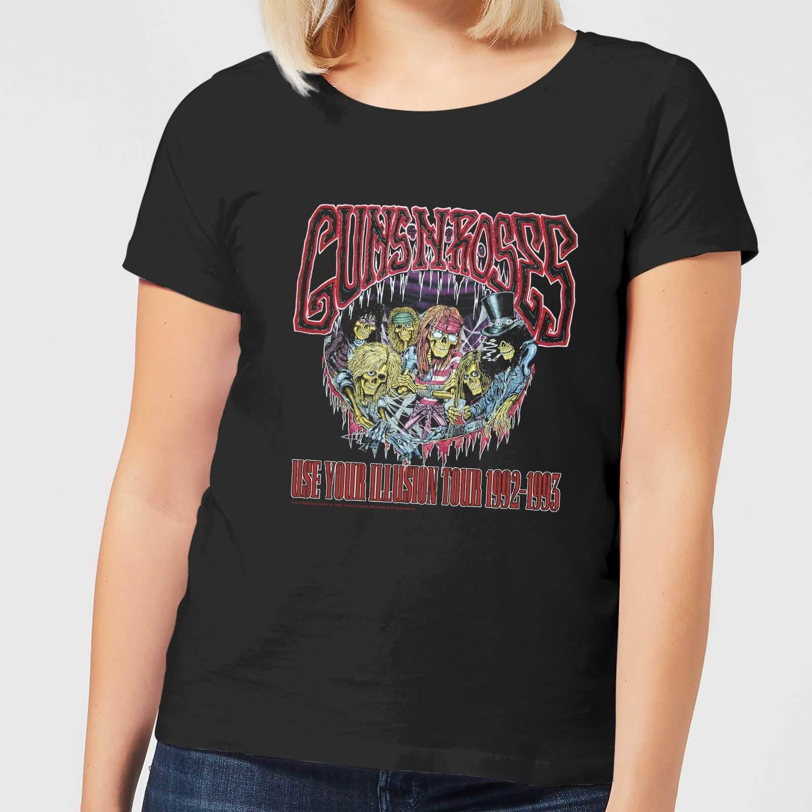 b152dd3cce0 Guns N Roses Illusion Tour T-shirt in Black - Lyst